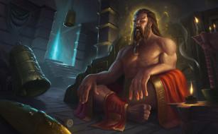 видео игры, league of legends, медитация, колокола, свечи, udyr