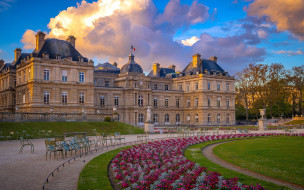 Palais du Luxembourg обои для рабочего стола 1920x1200 palais du luxembourg, города, париж , франция, palais, du, luxembourg