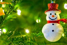 обои для рабочего стола 1920x1279 праздничные, снеговики, снеговик