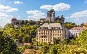 обои для рабочего стола 1920x1200 города, - православные церкви,  монастыри, эстергомская, базилика, достопримечательность, храмы, эстергом, венгрия