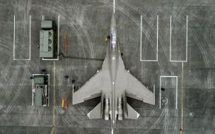 авиация, боевые самолёты, ударный, истребитель, shenyang, j16, ввс, народно-освободительной, армии, китая, вид, сверху, с, воздуха, дозаправка, самолета