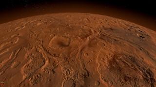 Марс обои для рабочего стола 2560x1440 марс, космос, планета, вселенная, поверхность, грунт, камни, красная, горизонт, пространство, пустыня