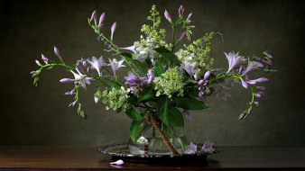 цветы, букеты,  композиции, блюдо, букет, ваза
