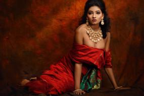 Kajal Agarwal обои для рабочего стола 1920x1280 kajal agarwal, девушки, - брюнетки,  шатенки, bollywood, kajal, agarwal, девушка, актриса, брюнетка, красотка, индианка, кино, индия, красное, сари, поза, макияж