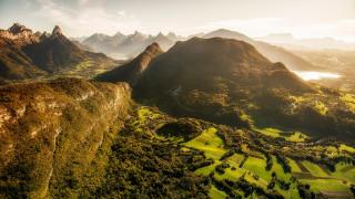 природа, горы, французские, альпы