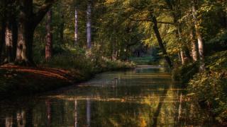 природа, реки, озера, нидерланды