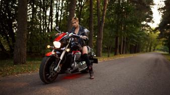 мотоциклы, мото с девушкой, анастасия, жилина