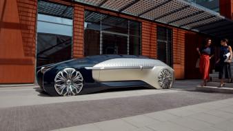 автомобили, renault, беспилотный, электромобиль, концепт, рено, ez-ultimo, премиум, класс