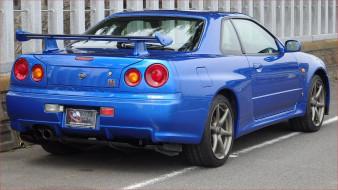 автомобили, nissan, datsun, ниссан, синий