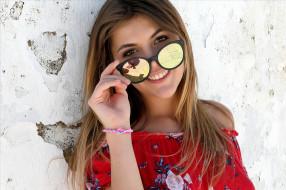 девушки, monika dee, очки