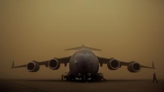 boeing c-17 globemaster iii, авиация, военно-транспортные самолёты, стратегический, военно-транспортный, самолет, ввс, сша, mcdonnell, douglas