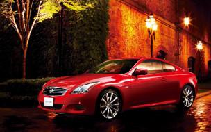 автомобили, nissan, datsun, ниссан, skyline, красный, фонари, стена