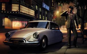 машина, улица, здание, человек