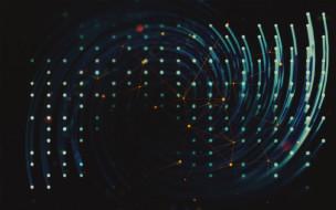 обои для рабочего стола 1920x1200 3д графика, абстракция , abstract, спираль, точки, линии