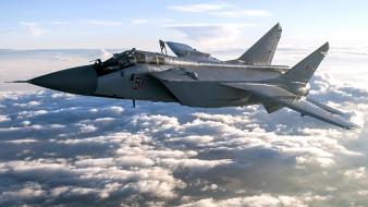 миг-31 бм, авиация, боевые самолёты, foxhound, миг31, бм, двухместный, сверхзвуковой, высотный, всепогодный, истребитель-перехватчик, дальнего, радиуса, действия