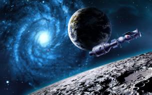 обои для рабочего стола 1920x1200 фэнтези, космические корабли,  звездолеты,  станции, космос, корабль, планеты