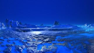 нептун, космос, планета, вселенная, поверхность, грунт, синева, горизонт, пространство, пустыня, атмосфера, лёд, обледенение