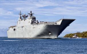 корабли, авианосцы,  вертолётоносцы, hmas, canberra, l02, вмс, австралии, десантный, вертолетный, док, ran, класс, корабль