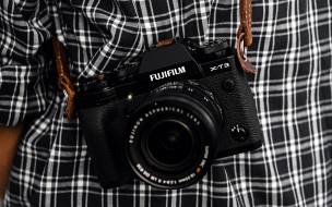 бренды, fuji, фотоаппарат