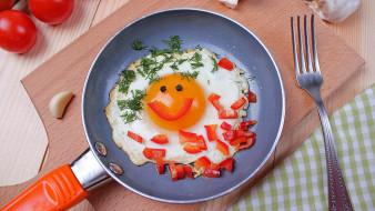 еда, яичные блюда, яичница, глазунья