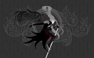 аниме, final fantasy, воин, sephiroth, меч, солдат