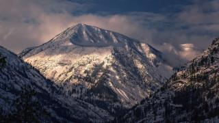 природа, горы, штата, вашингтон, сша