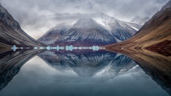природа, реки, озера, гренландский, национальный, парк, ?????, ?????????