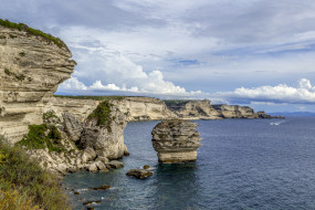 corsica, природа, побережье