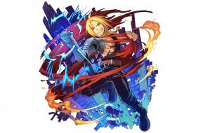 аниме, fullmetal alchemist, стальной, алхимик