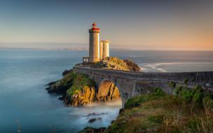petit minou lighthouse, france, природа, маяки, petit, minou, lighthouse