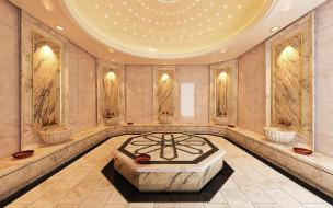 turkish bath, turkish hamam, интерьер, ванная и туалетная комнаты, turkish, bath, hamam