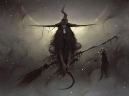 фэнтези, маги,  волшебники, ведьма