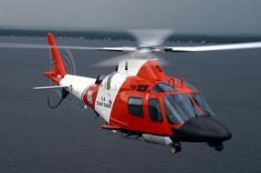 вертолет, agusta mh 68 stingray, береговая охрана