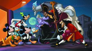 мультфильмы, disney, персонажи, злодеи
