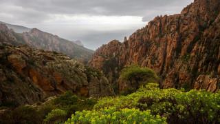 природа, горы, остров, корсика, франция