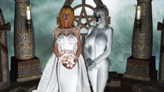 3д графика, фантазия , fantasy, девушки, фон, свадьба, букет, одежда