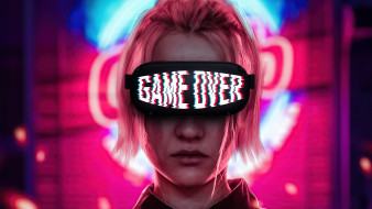 game over, фэнтези, девушки, game, over