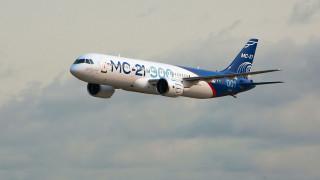 MC-21-300 обои для рабочего стола 1920x1080 mc-21-300, авиация, пассажирские самолёты, среднемагистральный, пассажирский, самолет, узкофюзеляжный, иркут, окб, имени, яковлева
