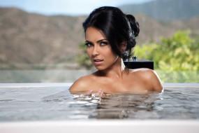 музыка, inna , elena alexandra apostoleanu, бассейн, брюнетка, вода