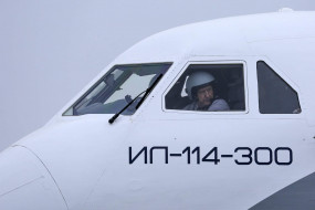 Ил-114-300 обои для рабочего стола 1920x1280 ил-114-300, авиация, кабина пилотов, кабина, пассажирский, самолет, ильюшин