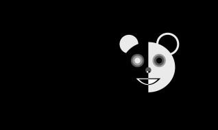 marco beghi, векторная графика, животные , animals, панда