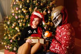 костюмы, праздник, ёлка