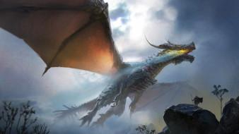 фэнтези, драконы, мощь