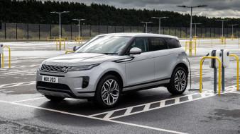 range rover evoque p300e s 2020, автомобили, range rover, range, rover, evoque, p300e, s, 2020, электрокар, легенда, внедорожник