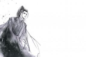 рисованное, кино,  мультфильмы, танец, феникса, ван, хаосюань, wang, hao, xuan