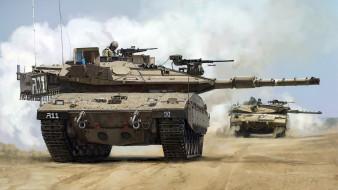 меркава, основной, боевой танк, израиль