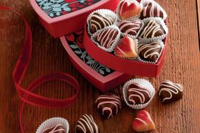 еда, конфеты,  шоколад,  сладости, шоколадные