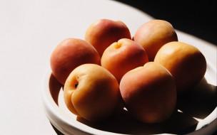 еда, персики,  сливы,  абрикосы