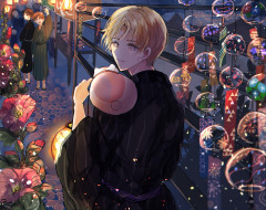 аниме, natsume yuujinchou, тетрадь, дружбы, нацумэ