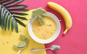 обои для рабочего стола 1920x1200 еда, первые блюда, суп, банан